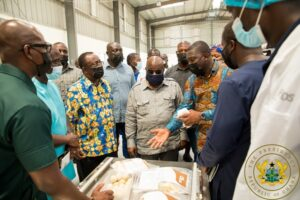 1D1F: President Akufo-Addo Commissions ¢10m Yam and
